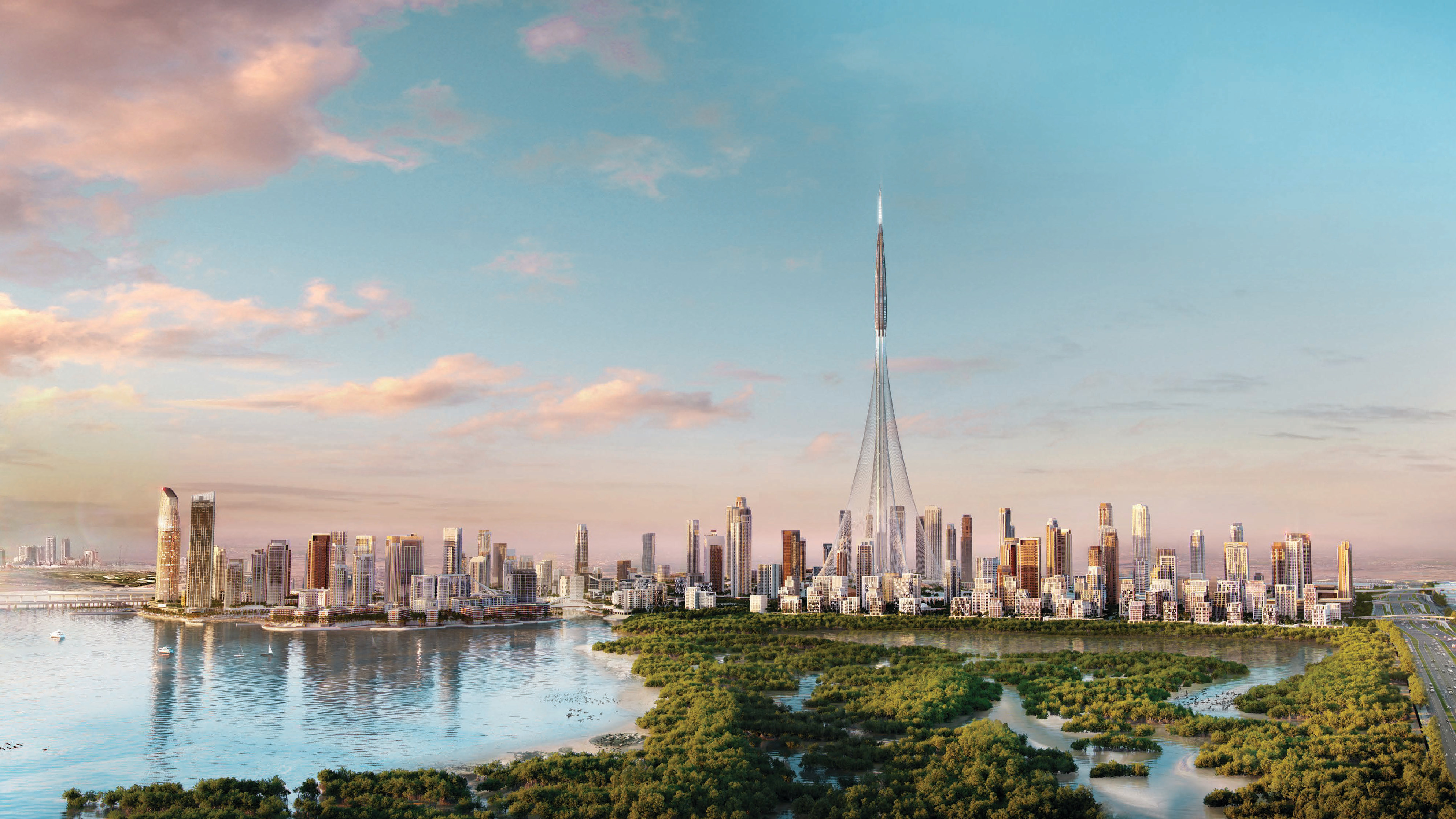 Breeze at Dubai Creek Development