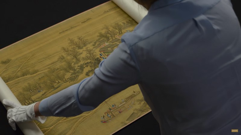 History Unfurled: A Qing Dynasty Masterpiece