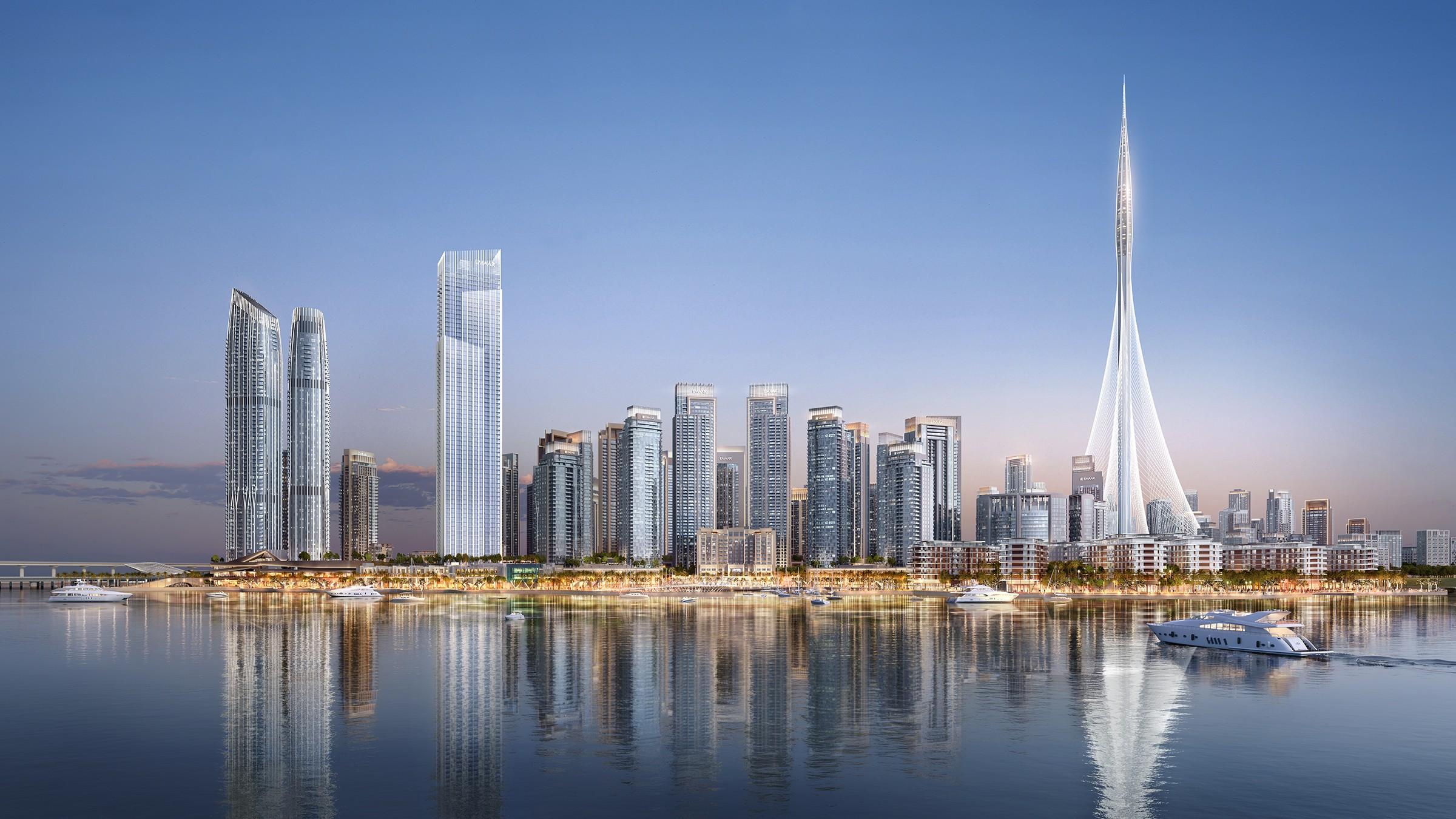 The grand Dubai creek harbour