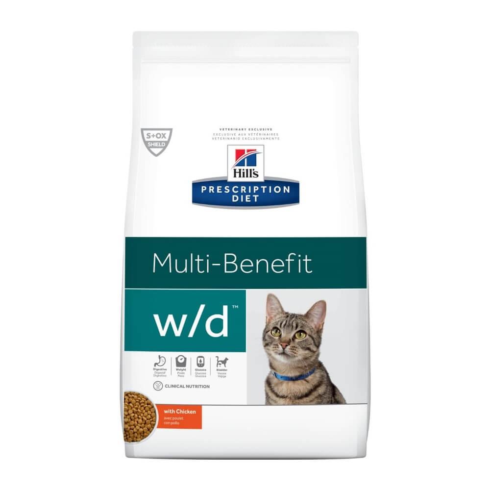 HILL's Cat PD Digestive/Weight Management w/d Chicken | 1.81kg