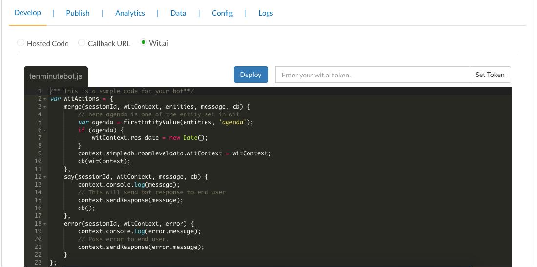 Gupshup - Intro to Gupshup bot builder tool