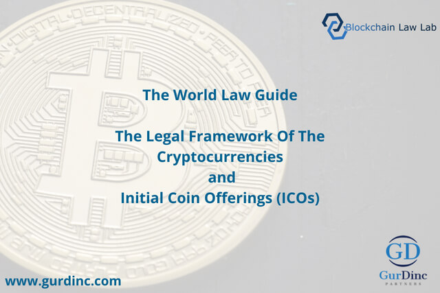 The Legal Framework of The Cryptocurrencies and Initial Coin Offerings