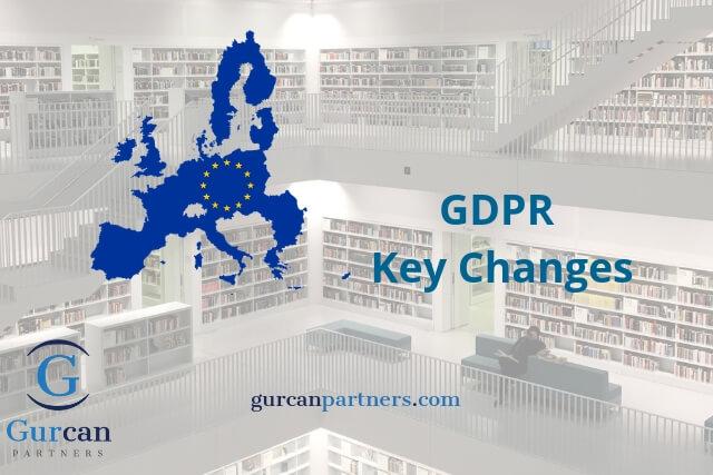 GDPR Key Changes