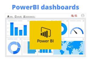 Portfolio for PowerBI developer. Power BI dashboards