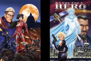 Portfolio for Comic Book Character Design
