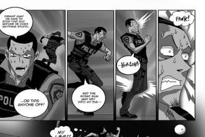 Portfolio for Comic Strip/ Sequential Art