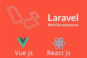 Portfolio for Laravel, VueJS, Node