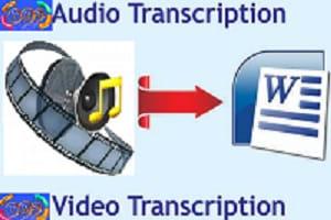 Portfolio for Audio Video Transcription