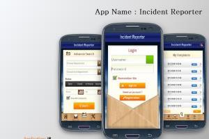 Portfolio for Mobile application