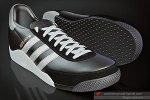 Portfolio for Shoe photorealistic 3D modeling