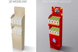 Portfolio for 3d Packaging modeling rendering