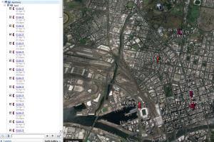 Portfolio for Google Maps Plotting