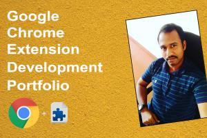 Portfolio for Chrome Extension Development