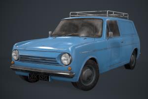 Portfolio for Game-Ready 3D Modeling