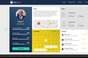 Portfolio for Social Networking website development