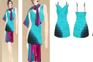 Portfolio for Fashion / Jewellery Designer