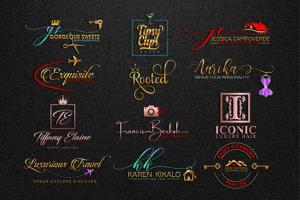 Portfolio for Signature Logo Design