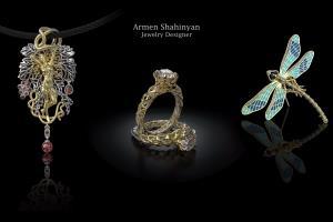 Portfolio for 3D Jewelry designer