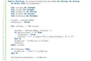 Portfolio for Visual Basic Conversions
