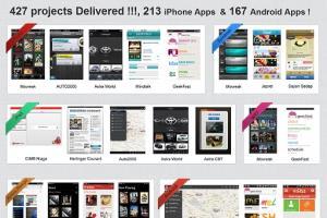 Portfolio for Mobile Apps, Web Dev, CMS,Ecommerce, PHP