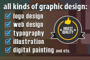 Portfolio for Real professional graphic design
