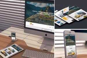 Portfolio for Cost-Effective Web/Graphic Design Agency