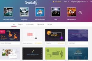 Portfolio for Genial.ly - Visual Contents Design