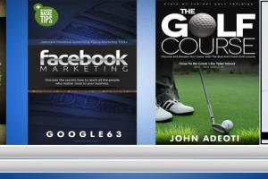Portfolio for I will design 2D and 3D ebook covers