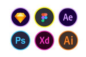 Portfolio for Adobe XD, Figma, Sketch app designer