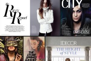 Portfolio for Print, Publication Design & Retouching