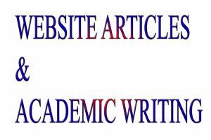 Portfolio for AN EXPERIENCED ACADEMIC WRITER