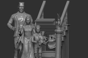 Portfolio for 3D Modeling  and  digital sculpting