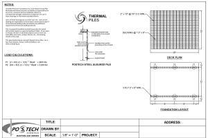 Portfolio for AutoCAD Drafter, 3D Modeler.