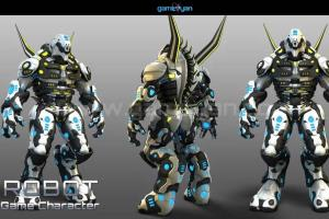 Portfolio for 3D Character Modelling/Texturing