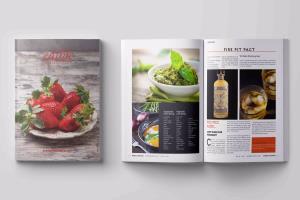 Portfolio for magazine cover and layout design