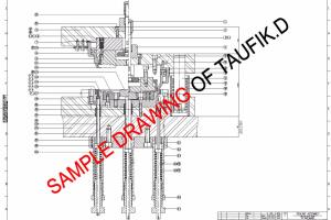 Portfolio for Mechanical Design Engineer and Drafter