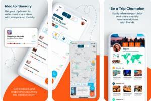Portfolio for Trip Mobile App - React Native