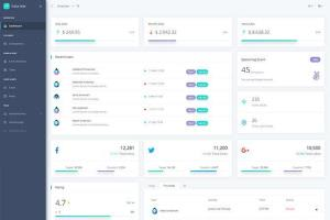 Portfolio for Admin Dashboard - React, Angular, Vue