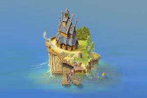 Portfolio for Illustrator concept art 2D / 3D designer