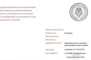 Portfolio for Expert facilitateur numérique