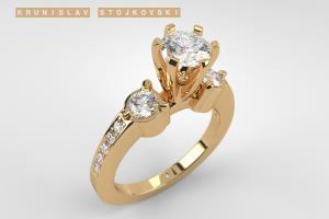 Portfolio for 3D Jewelry Rendering