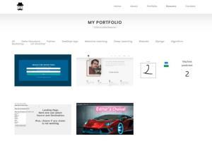 Portfolio for full stack python powered Django website