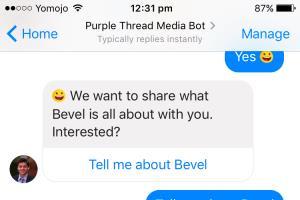 Portfolio for Facebook Messenger Bots