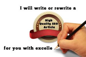 Portfolio for Article & Press Release Writing