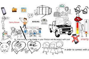 Portfolio for Whiteboard Doodle animation video