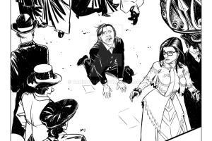 Portfolio for Comic Book Artist