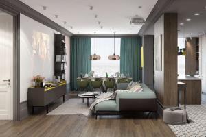 Portfolio for 3D interior rendering