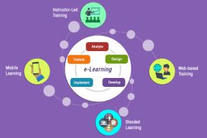 Portfolio for E-Learning Management System
