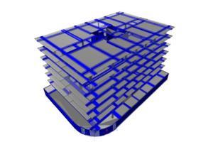 """Portfolio for civil/structural """"ETABS 3D modeling"""
