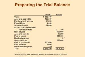 Portfolio for Accounts Work